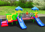 Playground Equipment - Plastic play structures