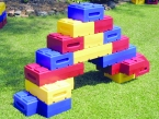 Stack blocks - playground equipment and parts