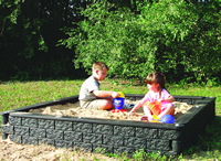 Playground Equipment - Plastic Area Border Timbers
