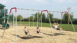 Playground equipment :: Swingsets and swing sets